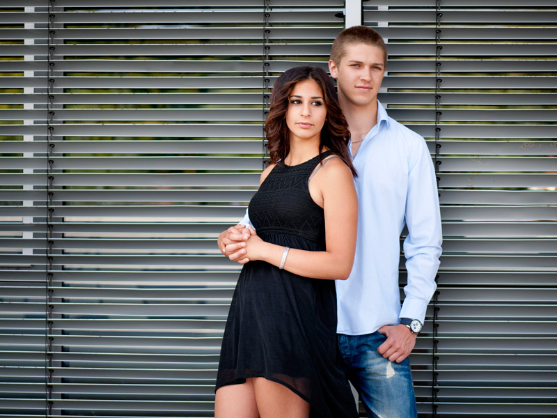 Lovestory mit Melissa & André  I  Fotoshooting in Kitzingen